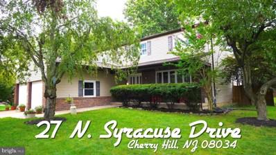 27 N Syracuse Drive, Cherry Hill, NJ 08034 - MLS#: NJCD405882