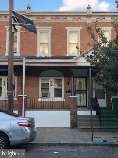22 N 28TH Street, Camden, NJ 08105 - MLS#: NJCD408568