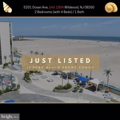 5201 Ocean Avenue UNIT 1004, Wildwood, NJ 08260 - #: NJCM103758