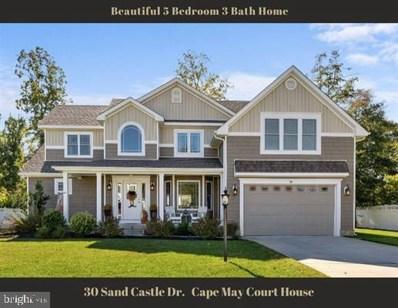 30 Sand Castle Drive, Cape May Court House, NJ 08210 - #: NJCM2000360