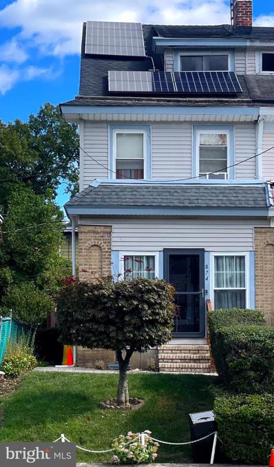 874 Parkside Avenue, Trenton, NJ 08618 - #: NJME2005956