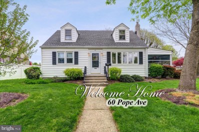 60 Pope, Hamilton, NJ 08619 - MLS#: NJME276952