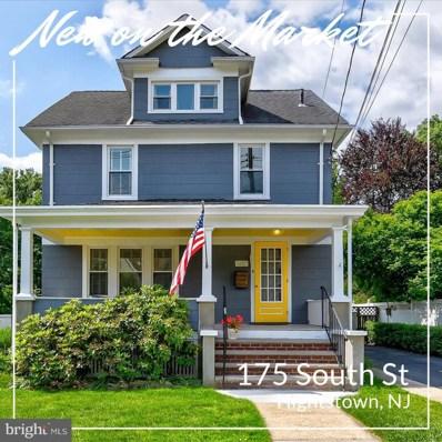 175 South Street, Hightstown, NJ 08520 - MLS#: NJME279346