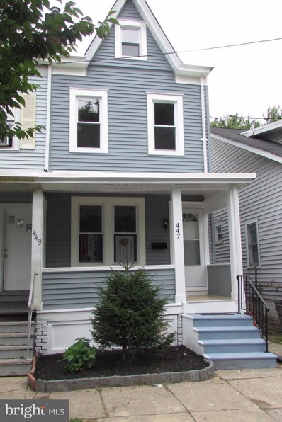 447 S Logan Avenue, Trenton, NJ 08629 - #: NJME284086