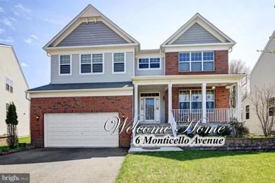 6 Monticello Avenue, Monroe Township, NJ 08831 - #: NJMX120642