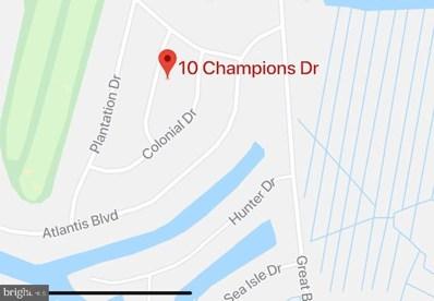 10 Champions Drive, Little Egg Harbor Twp, NJ 08087 - #: NJOC400134