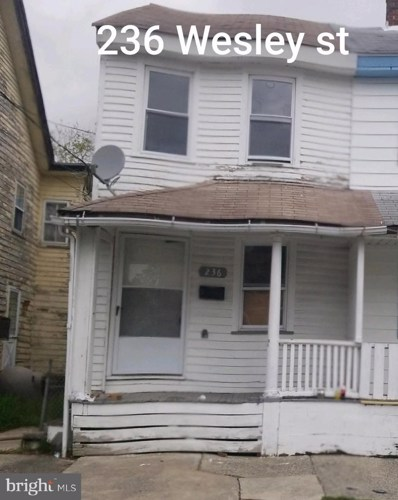 236 Wesley Street, Salem, NJ 08079 - #: NJSA141554