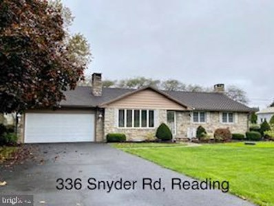 336 Snyder Road, Reading, PA 19605 - MLS#: PABK366392