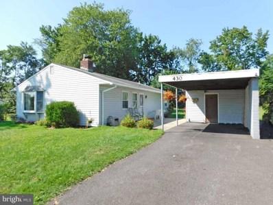 430 Thornridge Drive, Levittown, PA 19054 - #: PABU477190