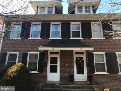 143 Mechanics Street, Doylestown, PA 18901 - #: PABU491092
