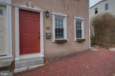 222 Ann Street, Phoenixville, PA 19460 - #: PACT501636