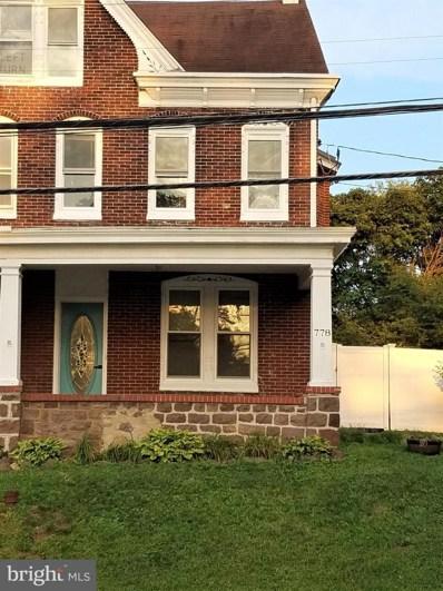 778 S Hanover Street, Pottstown, PA 19465 - #: PACT513428