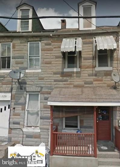 1927 Logan Street, Harrisburg, PA 17102 - #: PADA125694