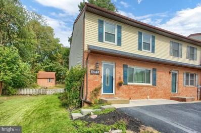 5486 Kenwood Avenue, Harrisburg, PA 17112 - #: PADA126132