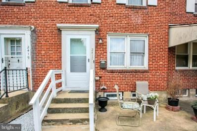 2417 Kensington Street, Harrisburg, PA 17104 - #: PADA132580