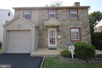 485 Maplewood Road, Springfield, PA 19064 - MLS#: PADE489434