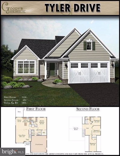 527 Madison Way UNIT LOT 29, Manheim, PA 17545 - #: PALA134608