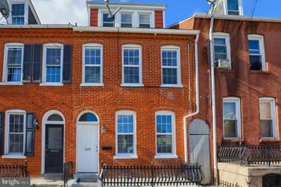 549 W Vine Street, Lancaster, PA 17603 - #: PALA158936