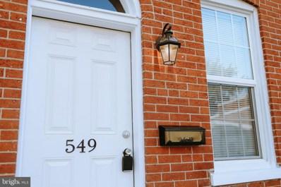 549 W Vine Street, Lancaster, PA 17603 - #: PALA168040