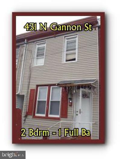 431 N Gannon Street, Lebanon, PA 17046 - #: PALN119164