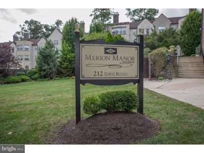 212 Idris Road UNIT I1, Merion Station, PA 19066 - MLS#: PAMC249236