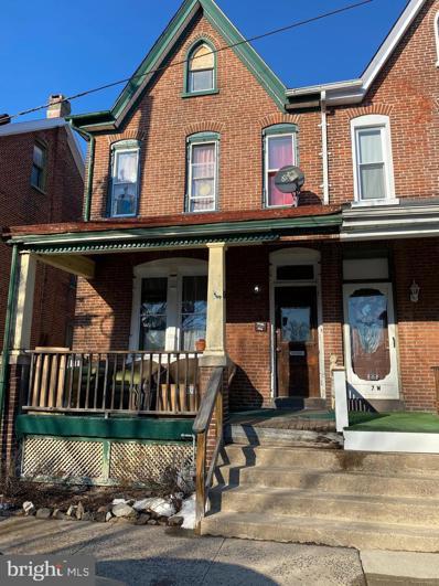 9 W 2ND Street, Pottstown, PA 19464 - #: PAMC683536