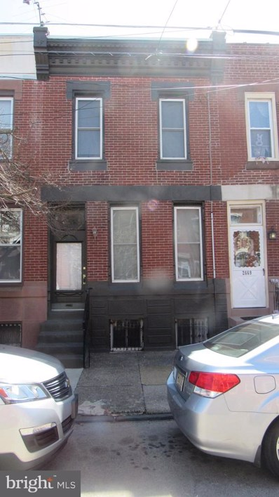2671 Belgrade Street, Philadelphia, PA 19125 - MLS#: PAPH1003476