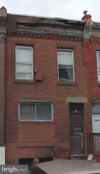 2538 W Oakdale Street, Philadelphia, PA 19132 - #: PAPH1007460