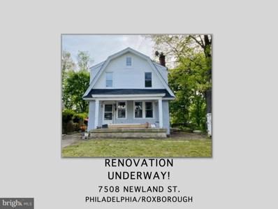 7508 Newland Street, Philadelphia, PA 19128 - #: PAPH1012070