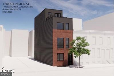 1718 Arlington Street, Philadelphia, PA 19121 - #: PAPH1012504