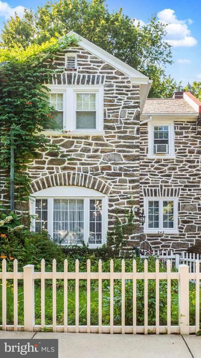 242 W Gorgas Lane, Philadelphia, PA 19119 - #: PAPH2006968