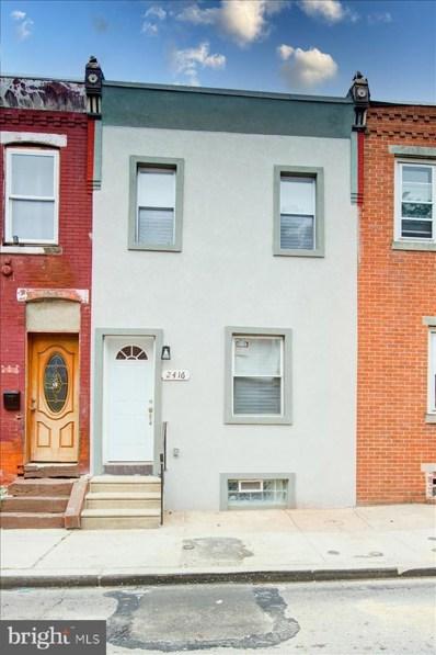 2416 N Corlies Street, Philadelphia, PA 19132 - #: PAPH2019782