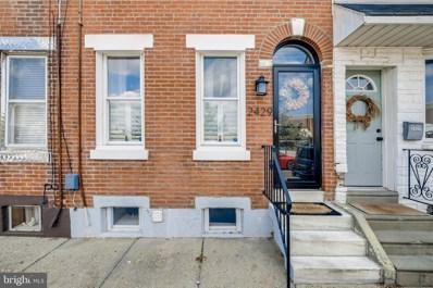 2429 Sepviva Street, Philadelphia, PA 19125 - #: PAPH2020240