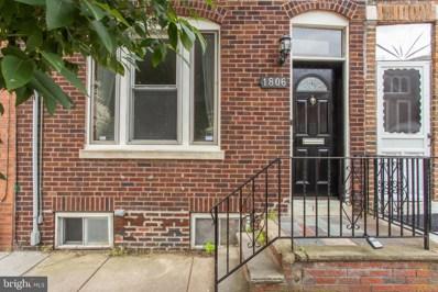 1806 Manton Street, Philadelphia, PA 19146 - #: PAPH2022020