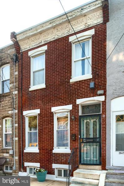 2649 Edgemont Street, Philadelphia, PA 19125 - #: PAPH2025240