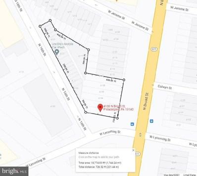 4100-10 N Broad & 4105-39- N 16TH Street, Philadelphia, PA 19140 - #: PAPH2026270