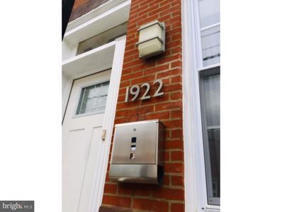 1922 Moore Street, Philadelphia, PA 19145 - MLS#: PAPH259244