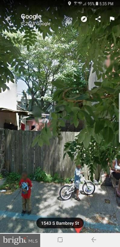 1543 S Bambrey Street, Philadelphia, PA 19146 - #: PAPH509942