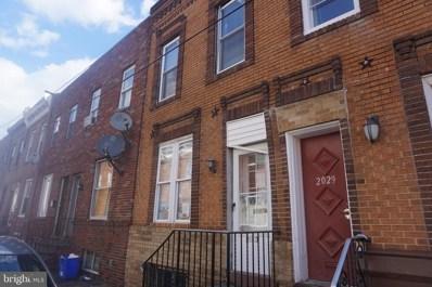 2027 S Beechwood Street, Philadelphia, PA 19145 - MLS#: PAPH720208