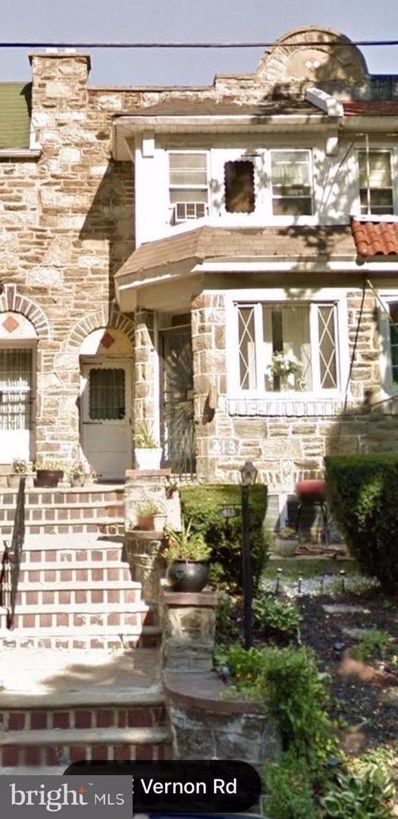 413 E Vernon Road, Philadelphia, PA 19119 - #: PAPH721344