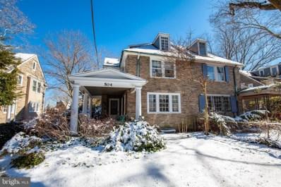 504 W Mount Airy Avenue, Philadelphia, PA 19119 - #: PAPH723724