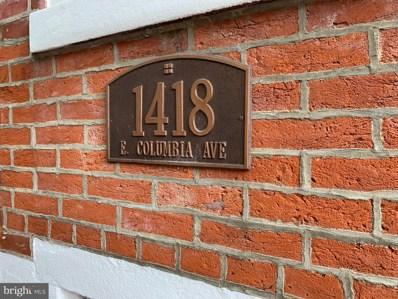 1418 E Columbia Avenue, Philadelphia, PA 19125 - #: PAPH791192