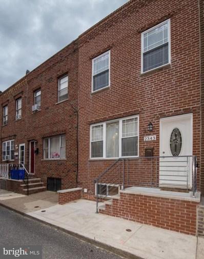2343 S Bouvier Street, Philadelphia, PA 19145 - #: PAPH796536