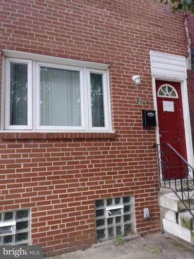 2143 N Woodstock Street, Philadelphia, PA 19121 - #: PAPH828048