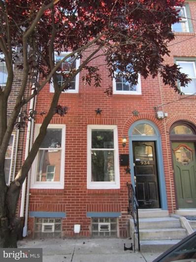 934 2ND Street S, Philadelphia, PA 19147 - #: PAPH831704