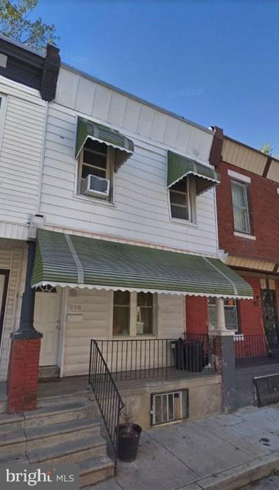 218 N Horton Street, Philadelphia, PA 19139 - #: PAPH839186