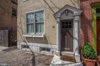 416 S 23RD Street, Philadelphia, PA 19146 - MLS#: PAPH888398