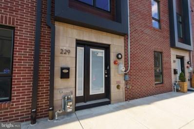 229 Wharton Street, Philadelphia, PA 19147 - MLS#: PAPH905274