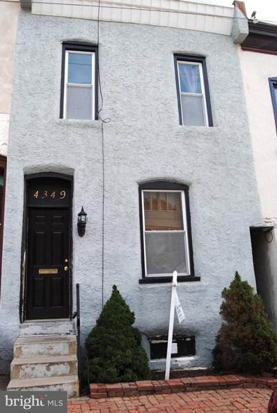 4349 Terrace Street, Philadelphia, PA 19128 - #: PAPH906242