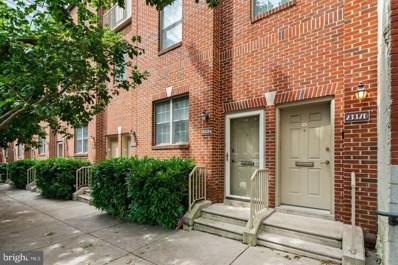 2337 Wallace Street UNIT A, Philadelphia, PA 19130 - MLS#: PAPH923072